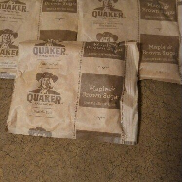 Quaker Instant Oatmeal Maple & Brown Sugar - 10 CT uploaded by Trixie B.
