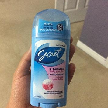 Secret Invisible Solid Antiperspirant & Deodorant uploaded by Priya S.