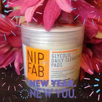Photo of Nip + Fab Glycolic Fix Exfoliating Facial Pads - 60 Count uploaded by Carra D.