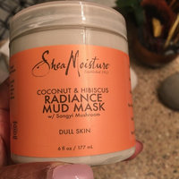 SheaMoisture Coconut & Hibiscus Radiance Mud Mask uploaded by Shalonda B.