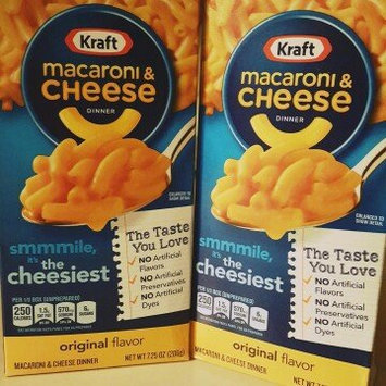 Kraft Macaroni and Cheese Original uploaded by Courtney w.