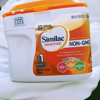 Similac Sensitive® OptiGRO™ Infant Formula with Iron 22.56 oz. Canister uploaded by Illsie A.