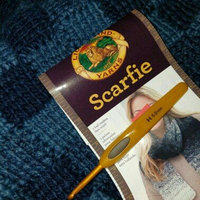 Lion Brand Yarn Scarfie Acrylic Wool Blend Bulky Yarn uploaded by OnDeane J.