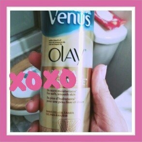 Gillette Venus® with a touch of Olay® Vanilla Cashmere™ Shave Gel uploaded by Christina C.