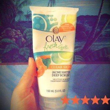 Olay Fresh Effects Clear Skin Acne Hater Scrub Salicylic Acid Acne Treatment Deep Scrub uploaded by Laura S.