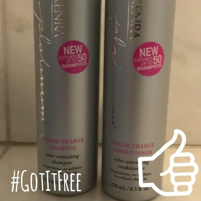 Kenra Platinum Color Charge Conditioner uploaded by Amanda M.