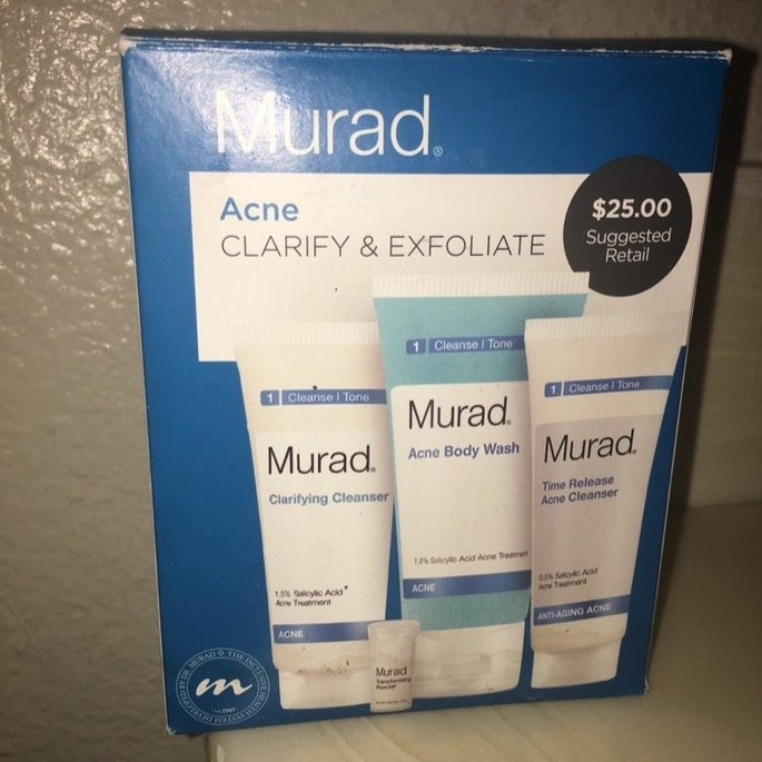 Murad Acne Mini Cleanser Set uploaded by Nikki I.