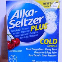 Alka-Seltzer Plus Cold Formula uploaded by ismaray g.