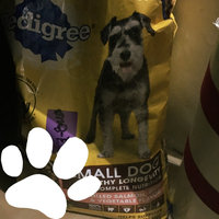 Pedigree® Complete Nutrition Small Dog Healthy Longevity Grilled Salmon, Rice & Vegetable Flavor Dog Food uploaded by Brenda R.