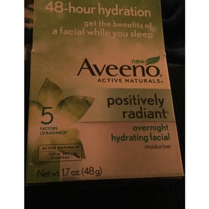 AVEENO® POSITIVELY RADIANT® Intensive Night Cream uploaded by Recyle Beth R.