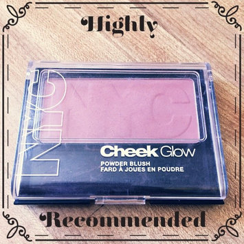 Photo of Del Laboratories, Inc. NYC Cheek Glow Blush 652 - West Side Wine uploaded by Violet C.