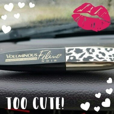 L'Oréal Paris Voluminous Feline Noir™ Waterproof Mascara 634 Ferocious Black 0.26 fl. oz. Carded Pack uploaded by Maria B.