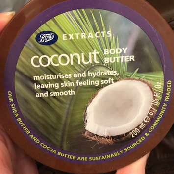 Photo of Boots Extracts Coconut Body Butter - 6.7 oz uploaded by Kendra H.