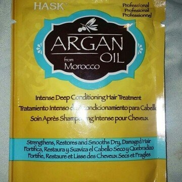 Hask Argan Oil Intense Deep Conditioning Hair Treatment uploaded by Ashley R.