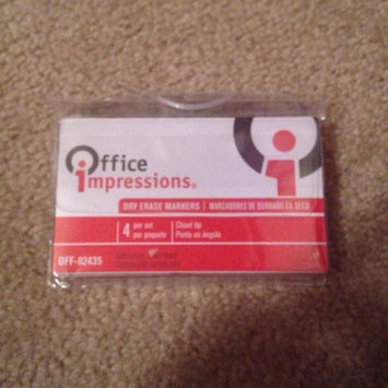 Photo of Office Impressions Dry Erase Markers, 4pk, Assorted Colors uploaded by Natalia G.