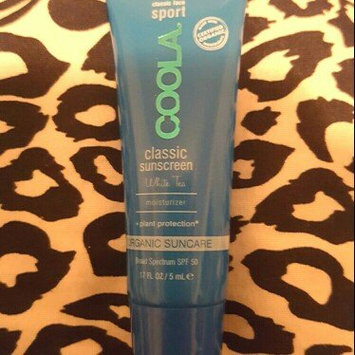 Photo of COOLA Sport Face SPF 50 White Tea Organic Sunscreen Lotion uploaded by Tabathia G.