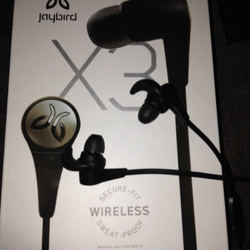 Photo of JayBird - X3 Wireless In-Ear Headphones - Blackout uploaded by Ashley R.