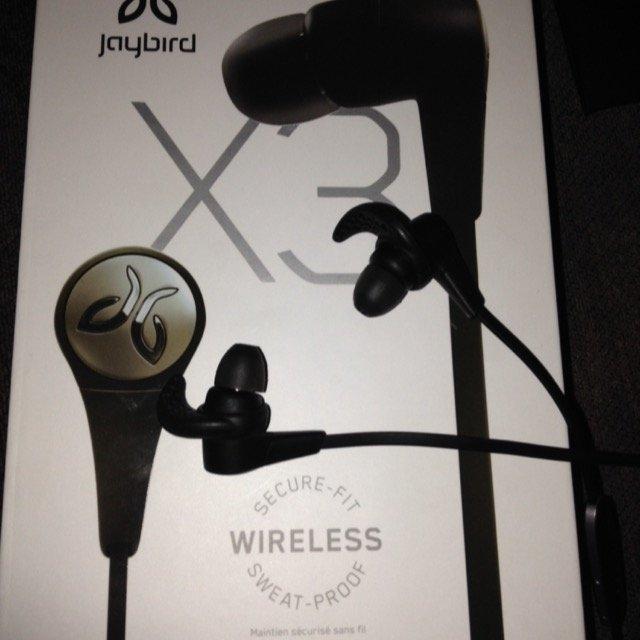 JayBird - X3 Wireless In-Ear Headphones - Blackout uploaded by Ashley R.