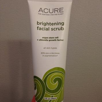 Acure Organics Brightening Facial Scrub uploaded by Tina F.
