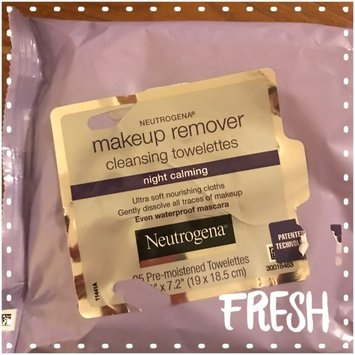 Neutrogena Make-Up Remover Cleansing Towelettes Night Calming uploaded by Allison B.