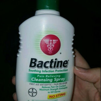Bactine Pain Relieving Cleansing Spray uploaded by Victoria A.