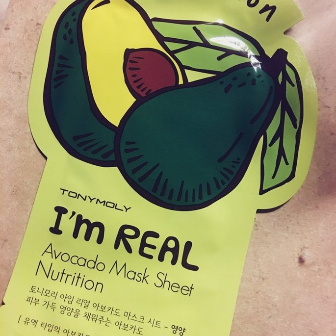 Tony Moly - I'm Real Avocado Mask Sheet (Nutrition) 10 pcs uploaded by Mara T.