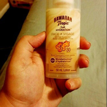 Hawaiian Tropic Silk Hydration Oil Free Sunscreen Lotion uploaded by Indira H.