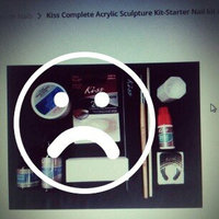 Kiss Complete Acrylic Sculpture Kit-Starter Nail kit with Maximum Speed Nail Glue / Acrylic primer/Acrylic Liquid/Acrylic Powder/20 Natural Nail Tips/20 Nail Forms/Brush/Nail File and White Buff Block uploaded by kenia v.