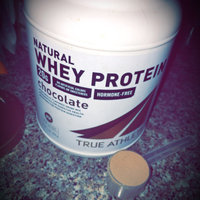 True Athlete - Natural Whey Protein - Chocolate, 1.5 lb powder uploaded by DAsia W.