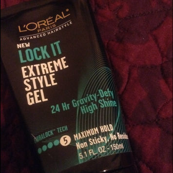 Photo of L'Oréal Paris Advanced Hairstyle LOCK IT Extreme Style Gel uploaded by Yari T.