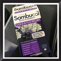 Sambucol Cold & Flu Relief Black Elderberry - 30 CT uploaded by Chelsea H.