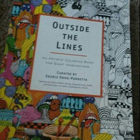 Outside the Lines: An Artists' Coloring Book for Giant Imaginations uploaded by Tara C.