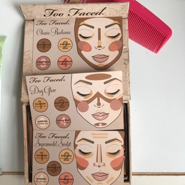 Too Faced Natural Face Natural Radiance Face Palette uploaded by Nikole T.