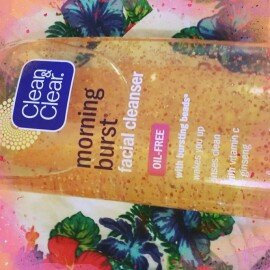 Clean & Clear Morning Burst Oil-Free Facial Cleanser uploaded by Christine C.