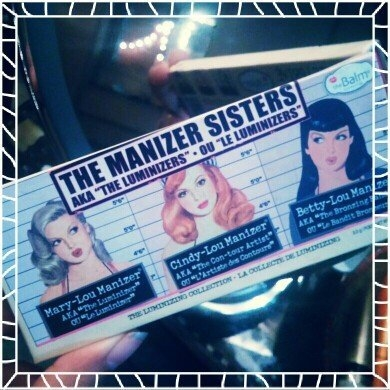 the Balm - the Manizer Sisters Luminizers Palette uploaded by Fareena N.