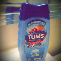 Tums® Smoothies™ Berry Fusion Extra Strength 750 Antacid/Calcium Supplement Tablets 140 ct Bottle uploaded by Elizabeth P.