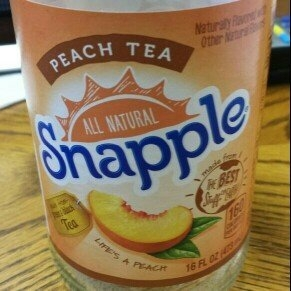 Snapple All Natural Peach Tea uploaded by d_is_for d.