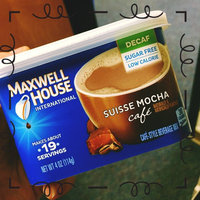 Maxwell House International Cafe Cafe-Style Beverage Mix, Suisse Mocha Cafe uploaded by Ashley P.