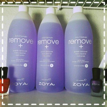 Photo of Zoya Remove Plus Nail Polish Remover uploaded by Ashley S.