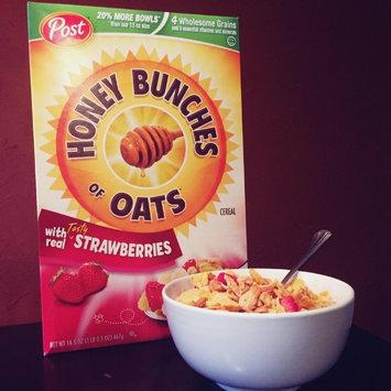 Photo of Post Foods, LLC HNY BNCH OAT STRWBRY 16.5OZ uploaded by Meriah D.