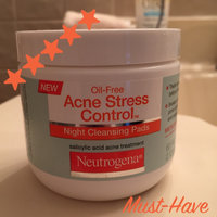 Neutrogena Oil-Free Acne Stress Control® Night Cleansing Pads uploaded by Heather I.