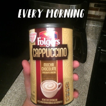 Photo of Folgers® Cappuccino French Vanilla Instant Coffee Beverage uploaded by Kayla S.