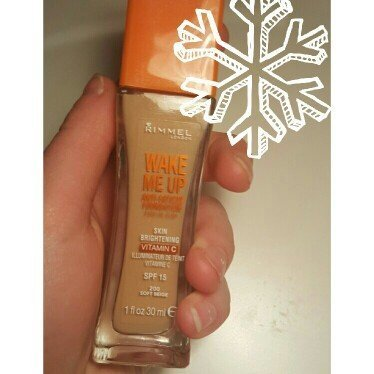 Rimmel Wake Me Up Foundation Soft Beige uploaded by Marthe A.