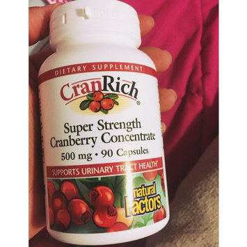 Photo of Natural Factors CranRich uploaded by Sierra P.