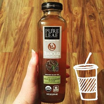 Photo of Pure Leaf® Tea House Collection Wild Blackberry & Sage Organic Black Tea 14 fl. oz. Bottle uploaded by Renee C.