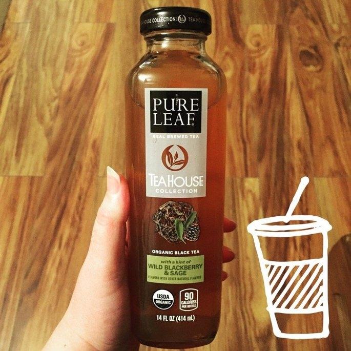 Pure Leaf® Tea House Collection Wild Blackberry & Sage Organic Black Tea 14 fl. oz. Bottle uploaded by Renee C.