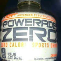 Powerade Zero Sports Drink Orange uploaded by Tara K.