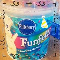 Pillsbury Happy Birthday Funfetti Aqua Blue Vanilla Frosting uploaded by Eduardo R.