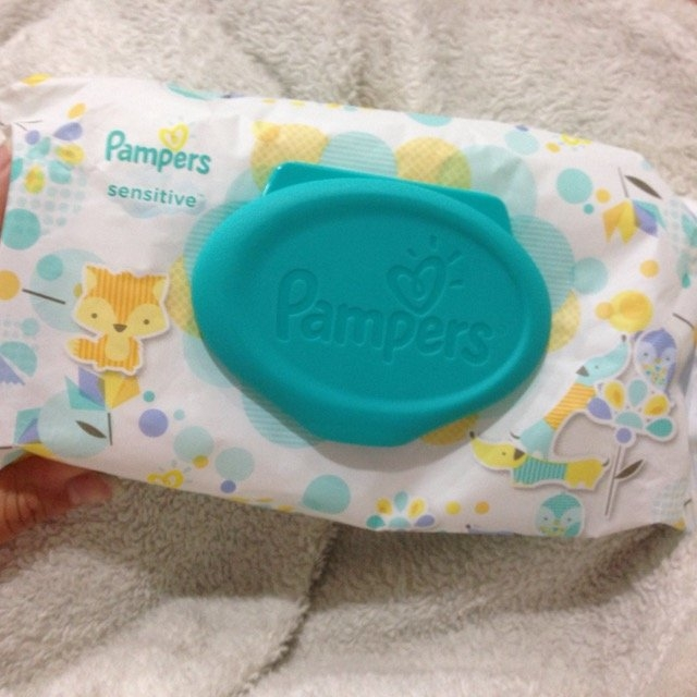Pampers Sensitive Wipes Travel Pack, 56 ea uploaded by Caitlin C.