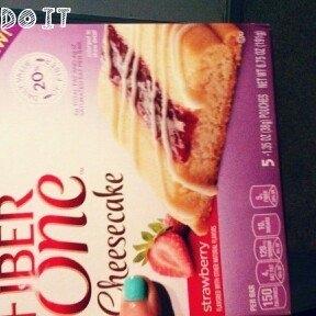 Fiber One Cheesecake Bar Strawberry uploaded by Rebecca H.